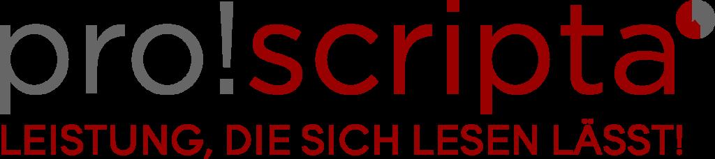 pro!scripta Logo