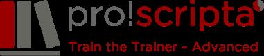 Logo pro!scripta Train the Trainer